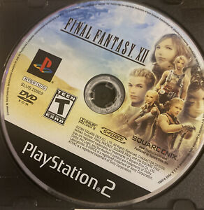 Final Fantasy XII 12 | Sony Playstation 2 (ps2) Disc Only! Tested & Works!