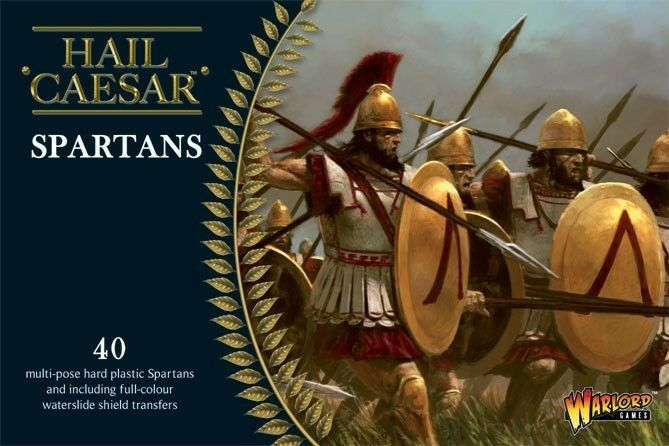 Warlord Games - Spartans 28mm Hail Caesar Phalanx Spartans Greeks Greeks