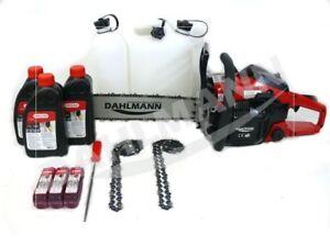 DAHLMANN Tools Motorsäge Kettensäge 3,5 PS 50 cm Aktionspaket