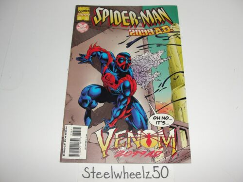 Spiderman 2099 #38 Marvel Comics 1995 Vs Venom 2099 38A Peter David Wildman RARE