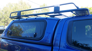 Image is loading Steel-Roof-Rack-for-Toyota-Hilux-2005-gt- & Steel Roof Rack for Toyota Hilux 2005u003e ARB Canopy Low Rack Open Ends ...