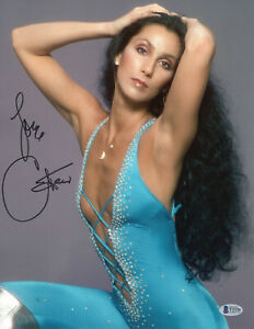 WOW-CHER-SIGNED-AUTHENTIC-AUTOGRAPH-11X14-PHOTO-BECKETT-BAS-COA-31