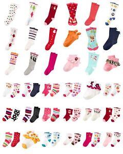 NWT Gymboree Big Girls Cotton Blend Socks 2-Pack Two-Pack 2pk NEW