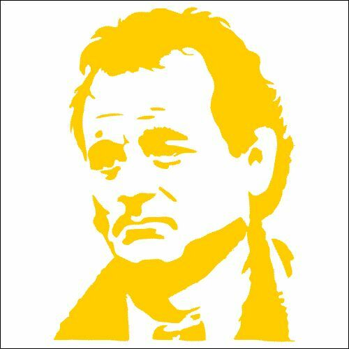 TWO Pack Bill Murray Groundhog Day Vinyl Decal Sticker 2