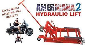Sollevatore moto custom harley davidson idraulico 600 kg for Sollevatore harley davidson