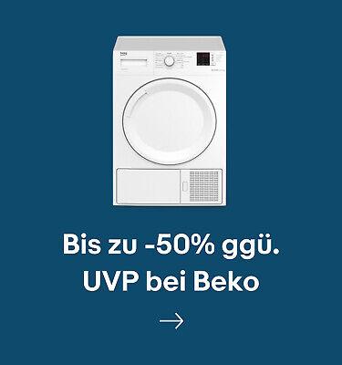 Bis zu -50% ggü. UVP bei Beko