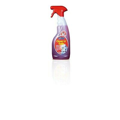 Reasonable Johnsons Vet Clean 'n' Safe Pet Disinfectant For Bird Cage Bird Supplies red