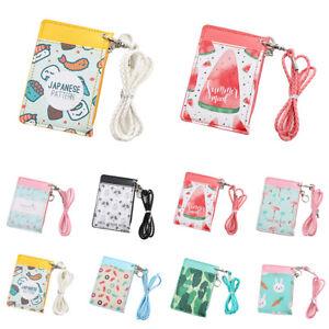 JU-HK-Women-Cute-Cartoon-Animal-Fruit-Coin-Purse-Card-Holder-Zip-Small-Walle