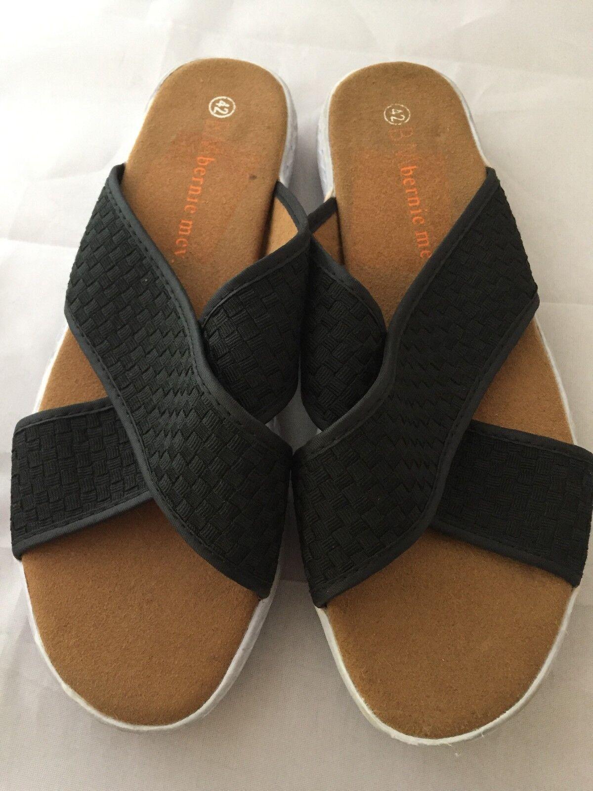 Bernie Women Mev Women's Avon Slide Sandal, Black, Women Bernie Size 42 (11.5-12 US) 618ab1