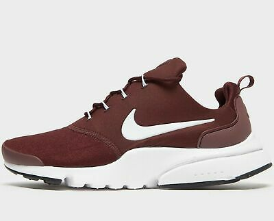 buy online wide varieties another chance Mens Nike Presto Fly Trainers Gym Running Burgundy White 908019 606 UK 7    eBay