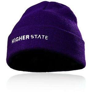 Higher-State-Hommes-Temp-Froid-Bonnet-Chapeau-Sport-Running-Violet-Jogging