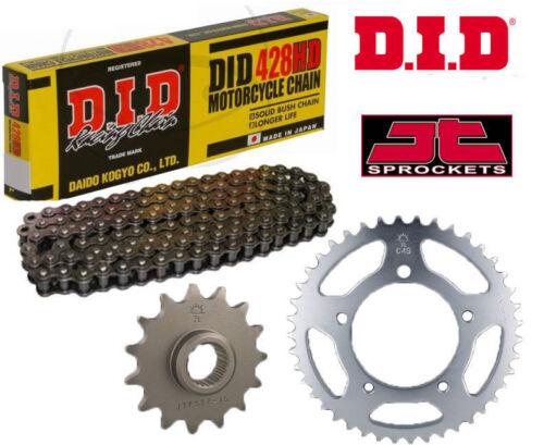 Honda CB175 K4,K5 71-78 Heavy Duty DID Motorcycle Chain and Sprocket Kit