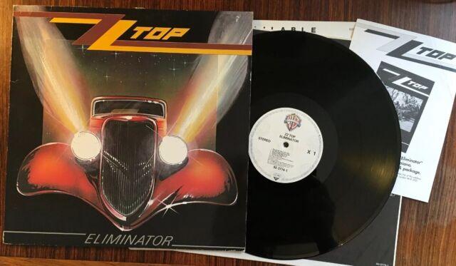 Vinyl LP Record Album ZZTOP ELIMINATOR Plus Inners