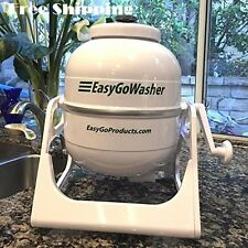 Crank Washing Machine Manual Hand Powered Portable Washer Laundry Compact New