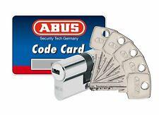 5 clés micropoints cylindre haute sûreté  ABUS D6PS 40x40B pré-cassé à bouton