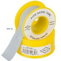 Teflon Tape W/ Nickel For Stainless 3/4 X 260 Thread Sealant Brewing <050er23