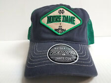 34ac7de8 item 4 Notre Dame Irish Cap Zephyr Adjustable Mesh Snapback Roadside Trucker  Hat -Notre Dame Irish Cap Zephyr Adjustable Mesh Snapback Roadside Trucker  Hat