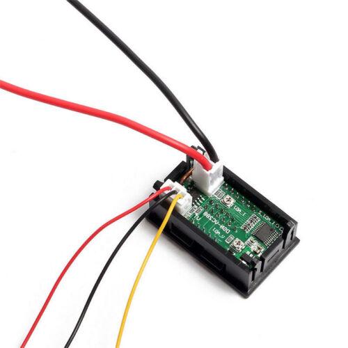 D1# 10A 50A 100A DC 100V Voltmeter Ammeter LED Dual Digital Volt Amp Meter Test