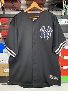 New York Yankees Majestic jersey XL All Black Vintage
