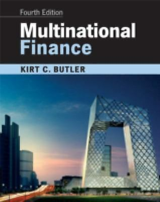 Multinational Finance by Butler, Kirt C.-ExLibrary
