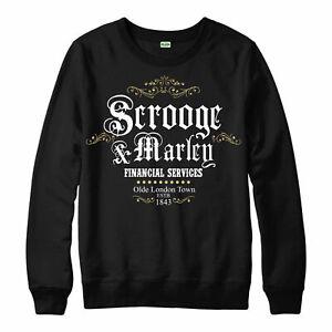 Scrooge-Marley-Pull-Christmas-Carol-Charles-Dickens-Unisexe-Adulte-NEUF
