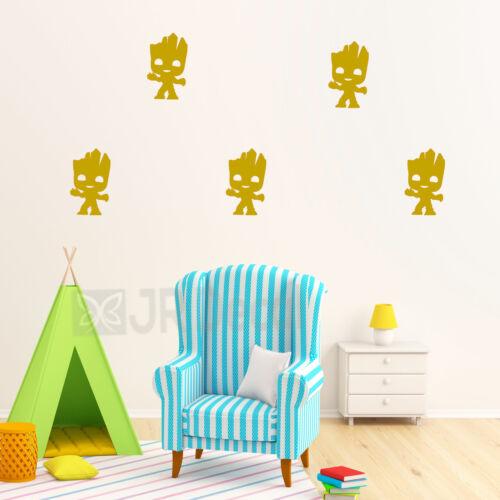 Nursery wall stickers Guardians of Galaxy Groot wall sticker Kids bedroom wall,