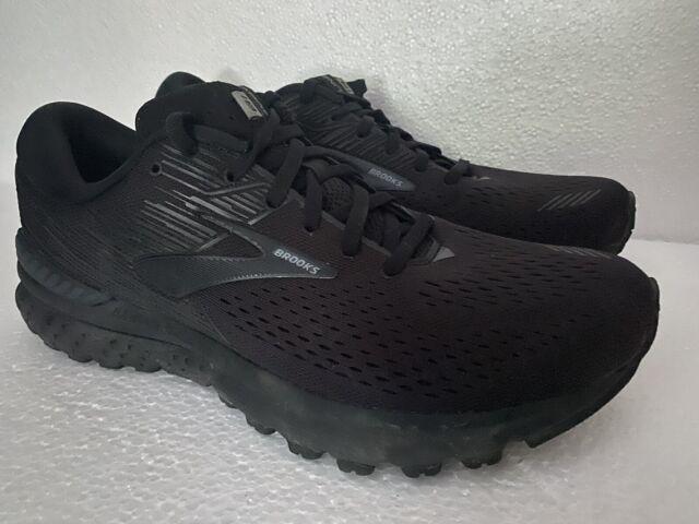 Brooks Adrenaline GTS 19 Mens Running Shoes Black Size 10
