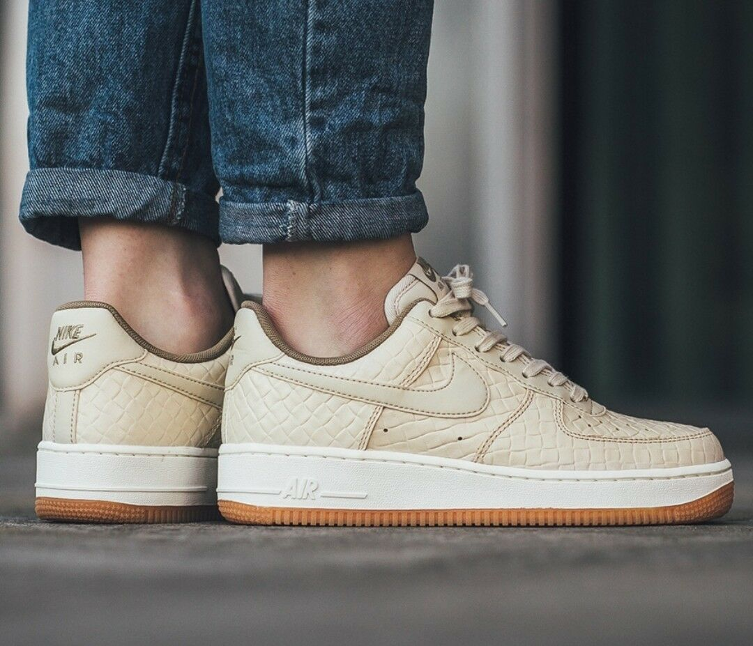 Nike AF1 Air Force One 07 Off blanc  Sail Leather Trainers Hommes femmes Shoe