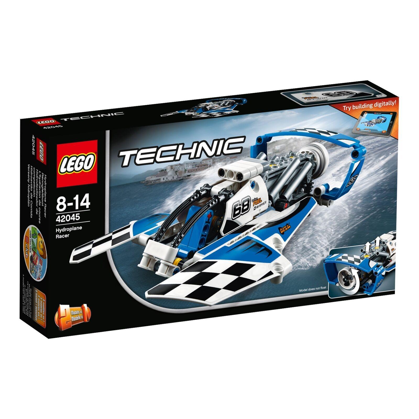 LEGO ® Technic 42045 renngleitavvio NUOVO _ Hydroplane Racer NEW _ l 'hydravion Course