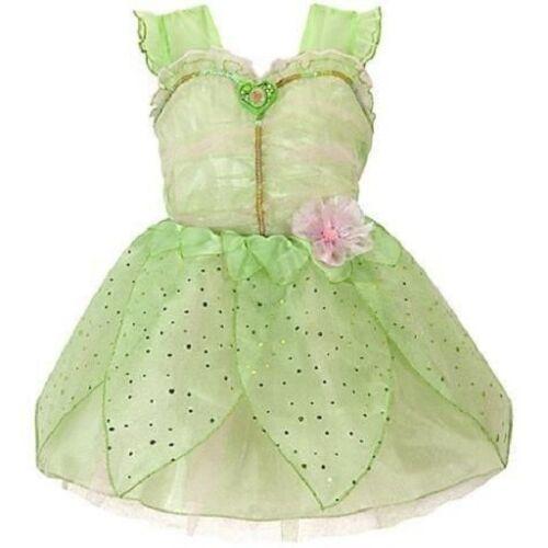 TINKER BELL~CoStUmE~SPARKLE~PeTaL~DRESS~2//3+4+5//6~NWT~Disney Store