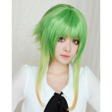 GUMI gradient meow raw High temperature mixed color grass green cosplay wig S74