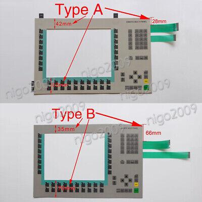 New Siemens 6AV6542-0DA10-0AX0 MP370 Membrane Keypad 6AV6 542-0DA10-0AX0