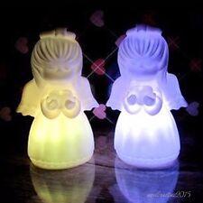 Engel Geformte Nachtlicht LED Lampe Cartoon Weihnachten Ändern Licht 1PC