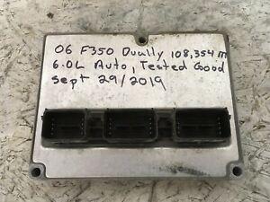2005-2007 FORD 6.0L DIESEL F250 F350 ECM ECU OEM 6C3A-12A650-EYA YJZ0 DPU-462