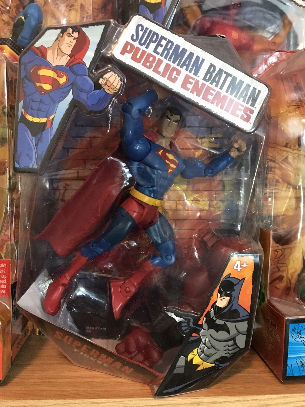 Mattel DC Public Enemies - Superman Bar Code