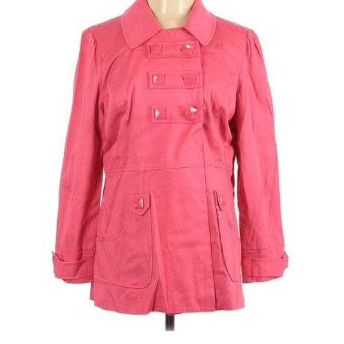 Sandro Sportswear Pink Trench Coat L