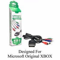 Component HD AV A/V Cable for the Original Microsoft Xbox - Brand New in Box