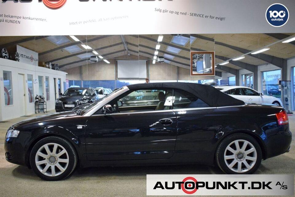 Audi A4 1,8 T 163 Cabriolet Benzin modelår 2008 km 199000
