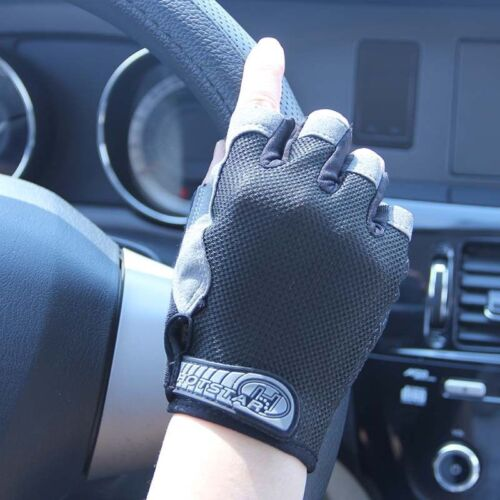 Road MTB Bicycle Cycling Half Finger GEL Gloves Road BMX Bike Riding Fingerless