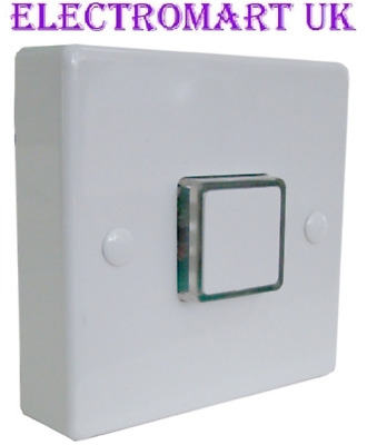 ENERGY SAVING ELECTRONIC TIME LAG DELAY LIGHT SWITCH 12 SECONDS TO 12 MINUTES