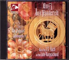 BACH Aufs Lautenwerck Lute-Harpsichord Work KIM HEINDEL CD Dorian Prelude Fugue