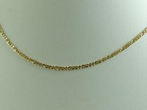 0ca72cb6c9975 Details about New a beautiful 18K gold filled Figaro link chain necklace  size:16