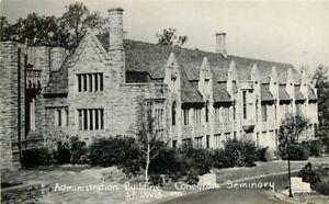 Administration-Building-Concordia-St-Louis-Missouri-1940s-RPPC-real-photo-7101