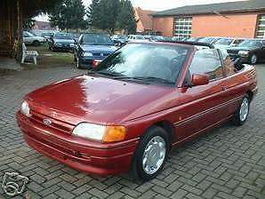 Ford ESCORT CABRIOLET CAPOTE instructions d/'installation montage EBA