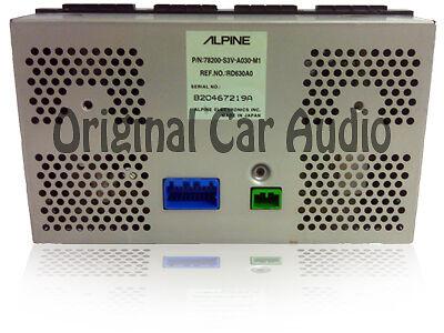 01 02 ACURA MDX Trip Computer Info Information Display Screen CLOCK A//C OEM