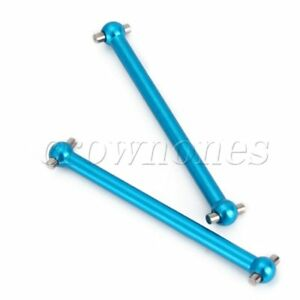 2PCS Alloy 46mm Dogbone Transmission Shaft 580027 for HSP RC 1:18 Off Road Blue