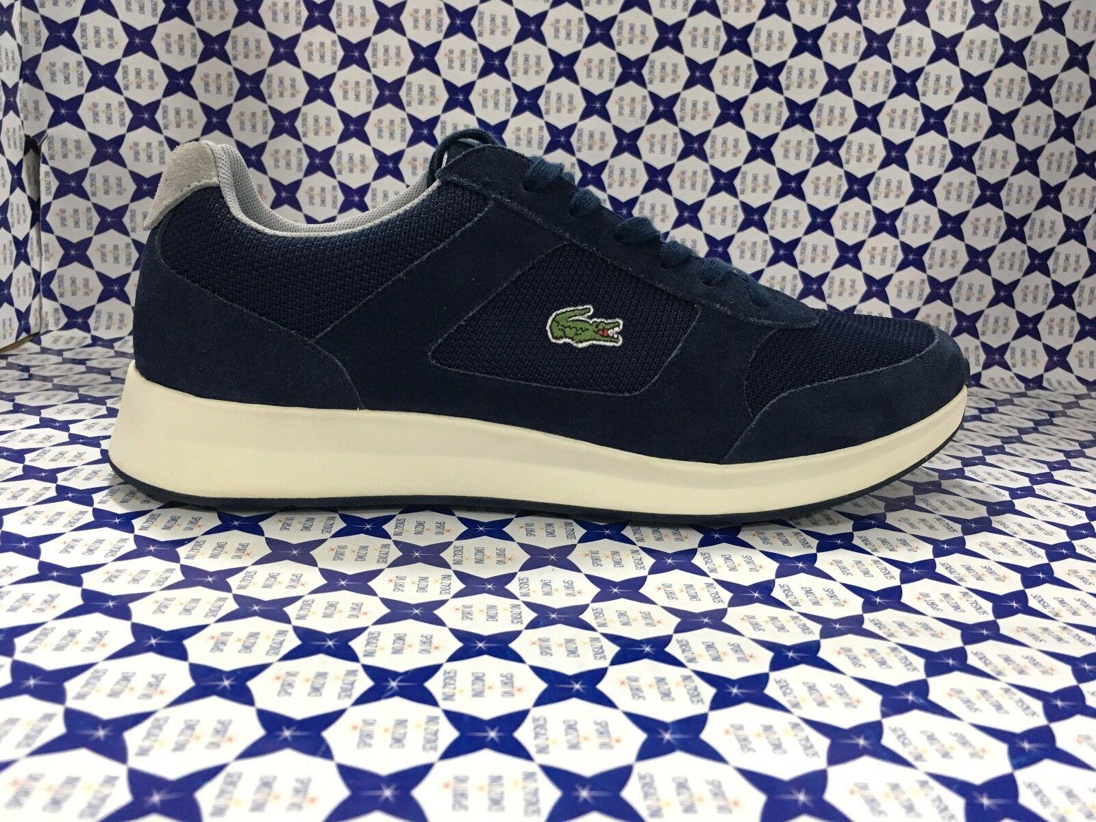 Zapatos LACOSTE hombre Sneakers Joggeur 117 117 117 - Blu Navy - SPM1008 e30440