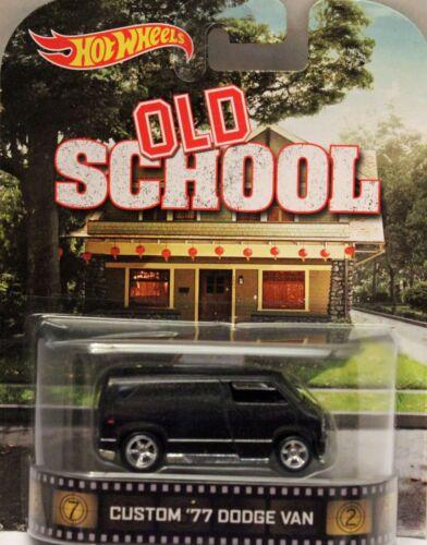 Hotwheels OLD SCHOOL Van Limited edition Nice Metalic paint.