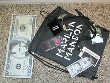Marilyn Manson VIP Pass Package 2016 razor blade necklace cinch bag manson money
