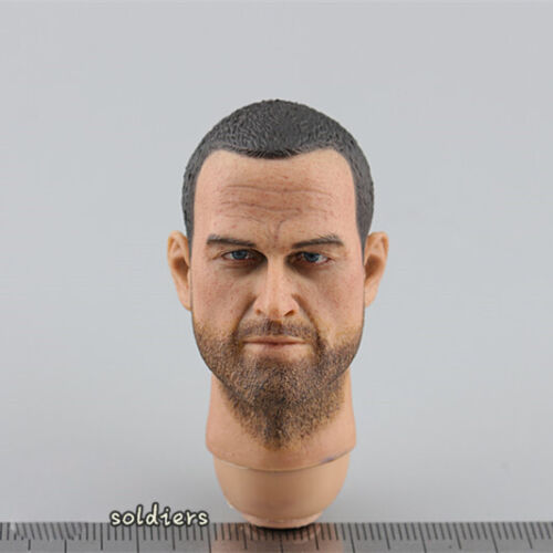 """【Neck Staining】CALTEK 1//6 Ruin camouflage US Army Head Sculpt F12/"""" Male Action"""